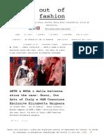 Elisabetta Gnignera, ARTE & MODA o della bellezza etica the case