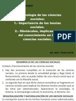 9. La Epstemol.en Ciencias Sociales