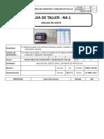 Guía de Taller 4.1 Analisis de Aceites 2017-1 Rubrica 3.1 3-B