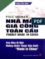 Nha May Gia Cong Toan Cau - Paul Midler
