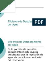 C3-1- Eficiencia de Desplazamiento Por Agua