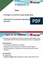 Clase Del Parrafo