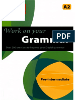 Work on Your Grammar Pre Intermediate English