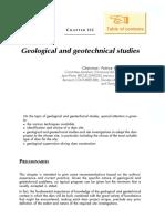 Geotechnical & GEoligical Study of Dams