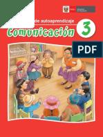 Comunicación 3 Mi Cuaderno de Autoaprendizaje