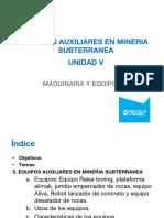 Maq. y Equipo Minero Modulo V