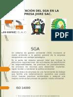 Capacitación Del SGA en La Empresa Jhire Sac