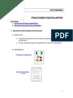 2matema2 Actividades Fracciones Equivalentes