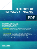 Elements of Petrology - Magma