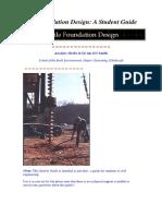 Pile Foundation Design