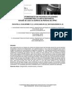 Ortofotomosaico de Fachada Utilizando a Fotogrametria a Curta Distäncia