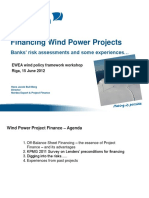 Banks Risk Assessments and Some Experiences _ EWEA