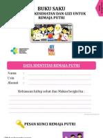 Buku Saku REMAJA - Edit Way Kanan
