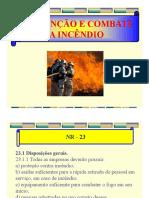 03 - Prevenção e Combate a Incêndio