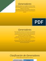 Sistemas de Potencia Generadores