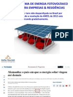 Fundamentos Do Processo Energia Fotovoltaico- Light