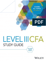 2018 cfa Level 3 Wiley Formula Sheet | Bonds (Finance