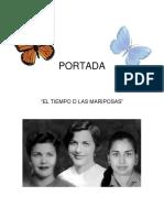 Analisis Obra Tiempo de Las Mariposas