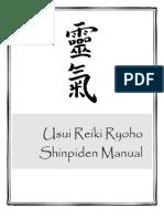 Usui Reiki Ryoho Level 3 den Manual