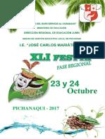 Festta Bases 2017 Pichanaqui