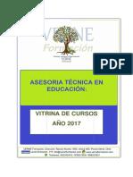 Vitrina de Propuestas Tecnicas Ate Año 2017