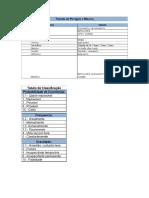 Tabela de Perigos e Riscos e Tabela de Classificação