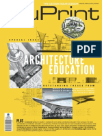 BluPrint Special No 2 2015 Architecture Education