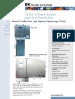 Model 5100-5100 Hd h2s in Process Gas