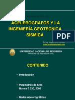 ACELEROGRAFOSINGGEOTECNICASISMICA