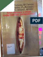 (Alianza universidad, 662) F. Tomás y Valiente ... [et al.].-Sexo barroco y otras transgresiones premodernas-Alianza (1990.)