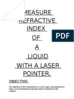 Measure Refractive Index