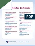 Budget Seminar Handout