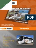Transporte en Cifras - Estadisticas 2013
