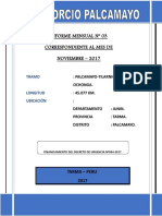 Informe TILARNIOC noviembre