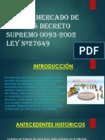 Diapositivas de ley de mercado