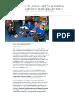 La Acalorada Crítica Del Profesor Josef Kraus Al Sistema Educativo Actual_ «¡Abajo Con La Pedagogía Peluche!»