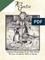 Ars Goetia - Classical Demonologie for Ye Olde Schoole