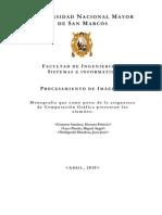 Procesamiento de Imágenes Computacion Grafica UNMSM - FISI - CG