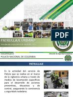 Presentacion Manual de Patrullaje Urbano