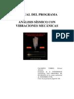 Manual Del Programa Analsis Sismico Con Vibraciones Mecanicas