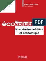 Les Eco Solutions a La Crise Immobiliere Et Economique