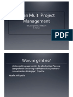 Lean Multi Project Management