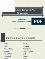 Bedside Teaching Serumen