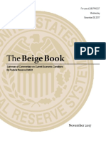 Fed Beige Book- November 2017