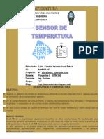 Sensor de Regulador de Temperatura