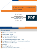 First Class on Game Theory