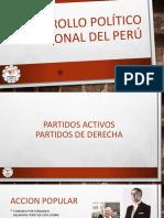 Desarrollo Político Nacional Del Perú