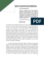 Jesús Casillas Del Río - La Lógica No Monotónica y Su Aplicación en La Argumentación Jurídica