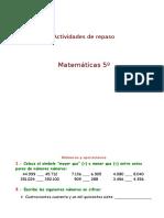 Matematicas Ejercicios de Todo