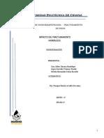 Fracturamiento Hidráulico, Impacto Resumen